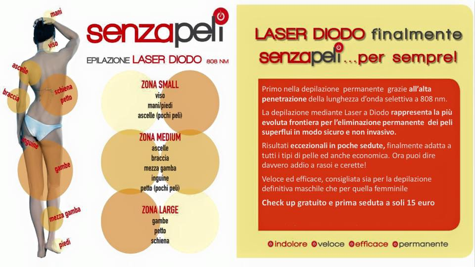 Epilazione laser permanente • Pinto Medical